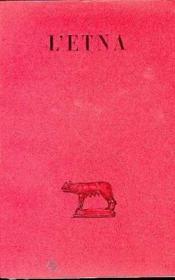 Poème de l'Etna - Couverture - Format classique