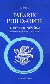 Tabarin philosophe ; le recueil général - Intérieur - Format classique
