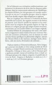 Introduction Aux Premieres Religions - 4ème de couverture - Format classique