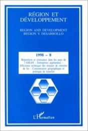 Region Et Developpement 8 - Couverture - Format classique