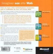 Imaginer Votre Site Web - 4ème de couverture - Format classique