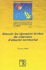 Reussir Les Epreuves Ecrites Du Concours ... - Couverture - Format classique