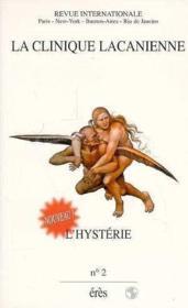Clinique Lacanienne 02 - L'Hysterie 1 - Couverture - Format classique