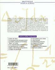 Les mathematiciens - 4ème de couverture - Format classique