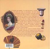 Objets De La Beaute A Collectionner - 4ème de couverture - Format classique