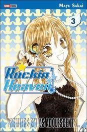 Rockin'heaven t.3 - Couverture - Format classique