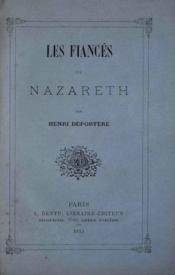 Les fiancés de Nazareth - Couverture - Format classique