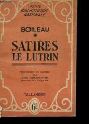 Satires De Lutrin - Couverture - Format classique