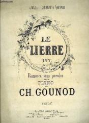 Le Lierre - Couverture - Format classique