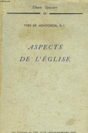 Aspects De L'Eglise - Couverture - Format classique