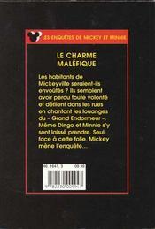 Le charme malefique - 4ème de couverture - Format classique