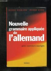 Nouvelle grammaire appliquee de l'allemand - Couverture - Format classique