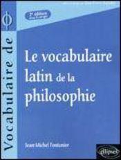 Latin De La Philosophie 2e Edition - Intérieur - Format classique