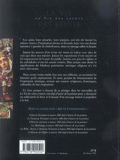 La vie des saints a travers 100 chefs d'oeuvre de la peinture - 4ème de couverture - Format classique