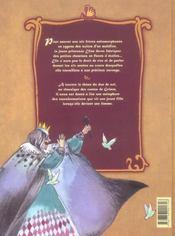 Les 6 cygnes - 4ème de couverture - Format classique