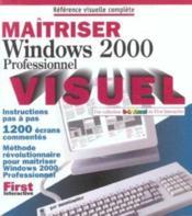 Maitriser Windows 2000 Professionnel - Couverture - Format classique