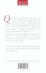 Loup Du Marais (Le) - 4ème de couverture - Format classique
