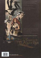 Les seigneurs d'agartha t.1 ; la dette - 4ème de couverture - Format classique