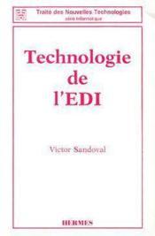 Technologie de l'edi - Couverture - Format classique