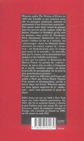 Les Regles De La Fiction - 4ème de couverture - Format classique