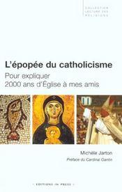 L'epopee du catholicisme - Intérieur - Format classique