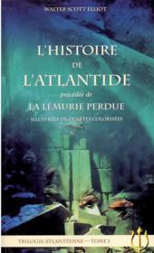 L'histoire de l'Atlantide ; la Lémurie perdue - Couverture - Format classique