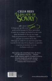 La balade de Sovay - 4ème de couverture - Format classique