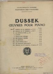 Oeuvres Pour Piano - N°67 : Sonate En Si B Majeur - Op.9 N°1. - Couverture - Format classique