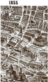 Paris A Vol D'Oiseau En 1855 - Couverture - Format classique