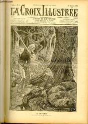 LA CROIX ILLUSTREE N° 51 - Deuxième année - Le bucheron (dessin de Jordic, gravure de Bauchart) - Couverture - Format classique