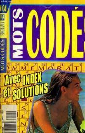 Mots Codes N°28 - Avec Index Et Solutions. - Couverture - Format classique