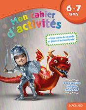 Mon cahier d'activités ; des exercices ludiques pour le CP ; 6-7 ans (dragon) - Couverture - Format classique