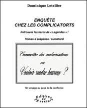 Enquête chez les Complicatorts - Couverture - Format classique
