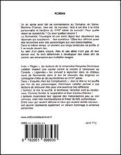 Enquête chez les Complicatorts - 4ème de couverture - Format classique