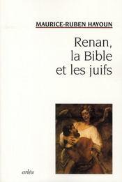 Renan, La Bible Et Les Juifs - Intérieur - Format classique
