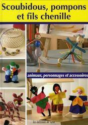 Scoubidous pompons et fils chenille animaux - Scoubidou personnages ...