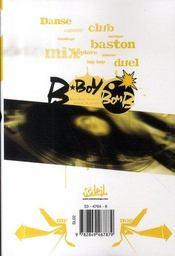 B-boy bomb t.3 - 4ème de couverture - Format classique