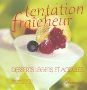 Tentation fraicheur - Intérieur - Format classique