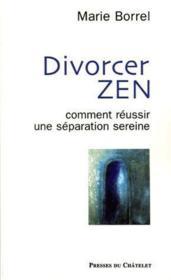 Divorcer zen - Couverture - Format classique