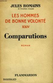 Les Hommes De Bonne Volonte. Tome 24 : Comparutions. - Couverture - Format classique