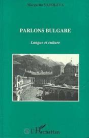 Parlons Bulgare - Couverture - Format classique