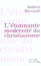 L'etonnante modernite du christianisme - Intérieur - Format classique
