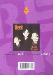 Beck t.13 - 4ème de couverture - Format classique