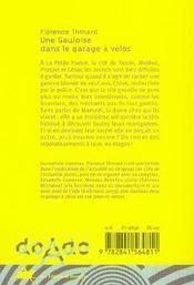 Une Gauloise Dans Le Garage A Velos - 4ème de couverture - Format classique