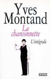 La Chansonnette - Couverture - Format classique