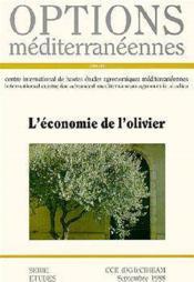 L'economie de l'olivier ; options mediterraneennes - Couverture - Format classique