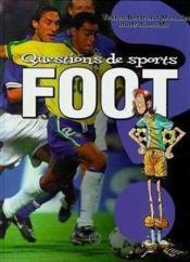 Questions De Sports, Le Football - Couverture - Format classique