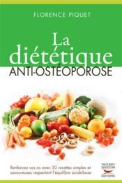 La diététique anti-ostéoporose - Couverture - Format classique