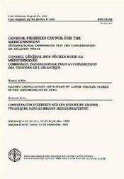 Conseil general des peches pour la mediterranee ; commission internationale pour la conservation des tons - Couverture - Format classique