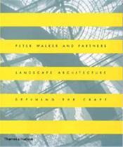 Walker And Partner Landscape Architecture /Anglais - Couverture - Format classique